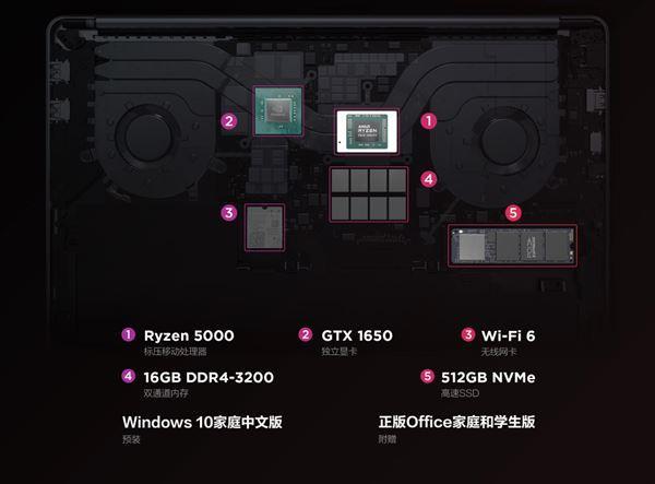 联想小新 Pro 16 2021锐龙版